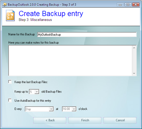 backup outlook step 3