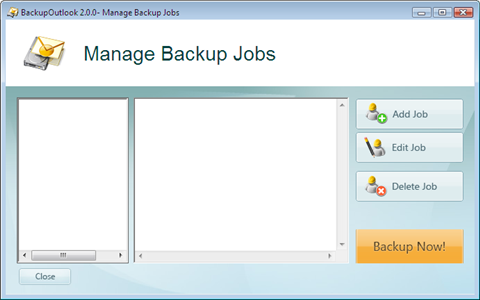 backup job manager